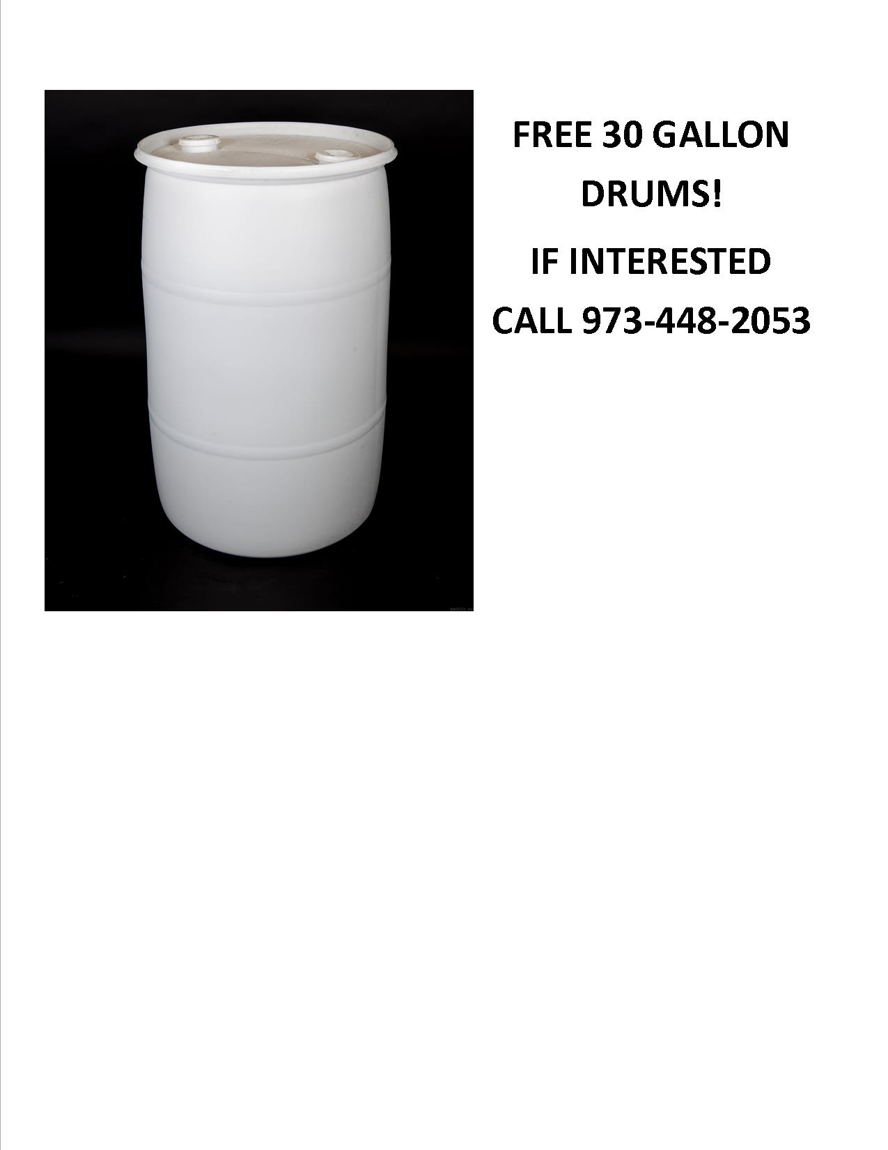 30 gallon drum offer