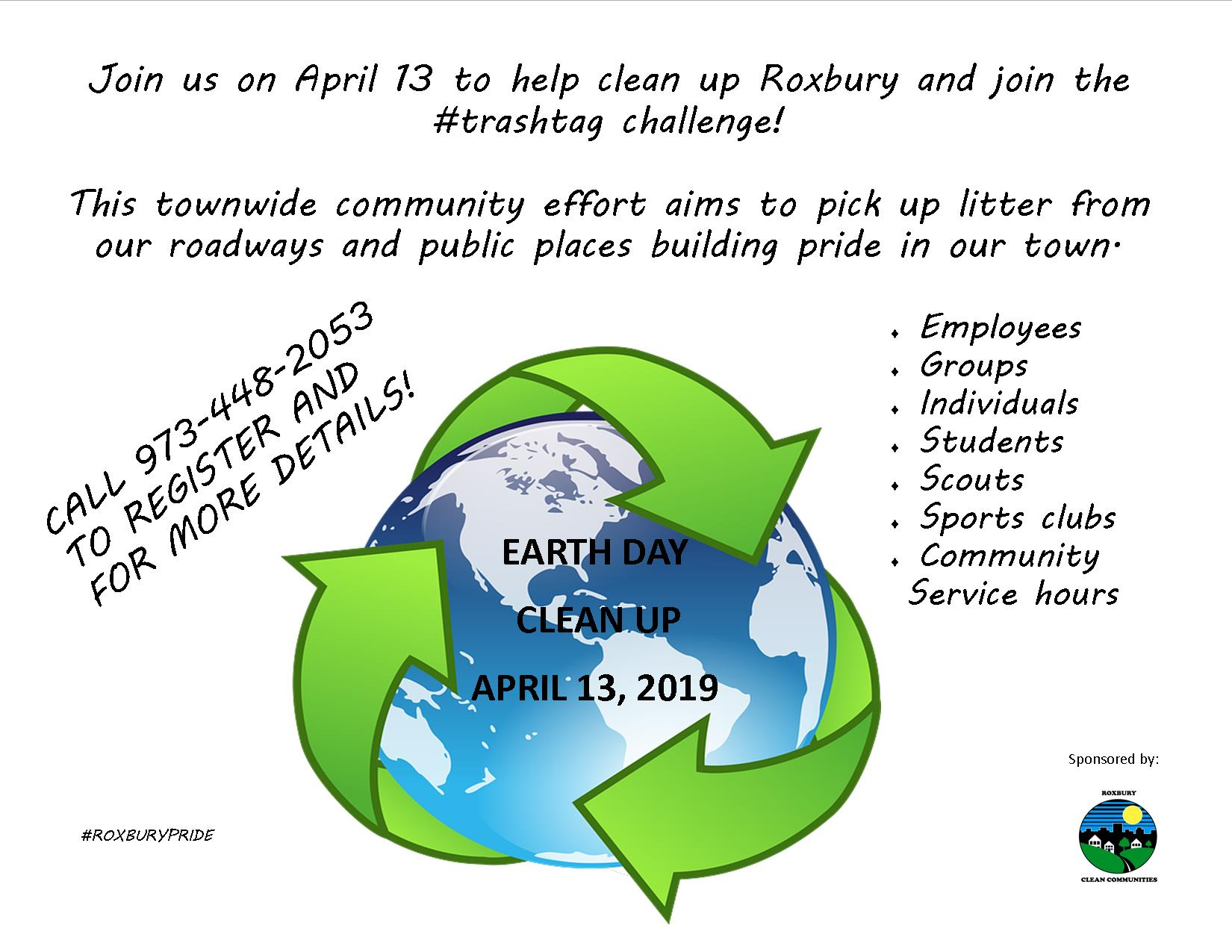 2019 Earth Day clean up day