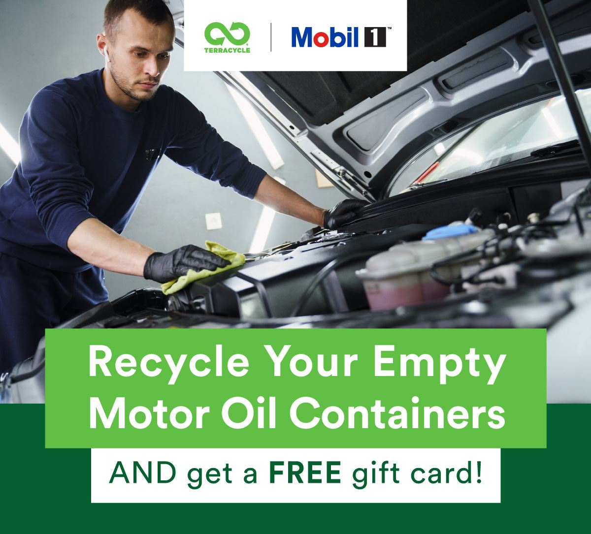 Motor oil recycling